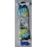 Buy cheap 8 piy Canadian Maple Skateboard , Fish Board Skateboard Customized 37 * 9.5 inch from wholesalers