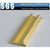Buy cheap Architectural Brass Nosings Sheets Copper Anti-slip Stair Strips from wholesalers