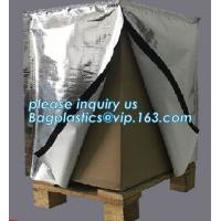 Buy cheap Reflective Bubble Foil Blanket for pallet cover, Thermal insulated pallet cover aluminum foil insulation bag container f from wholesalers