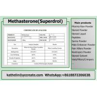 Buy cheap Raw Steroid Powders Methyldrostanolone / Methyldrostanolone / Superdrol For Bodybuilding 3381-88-2 from wholesalers