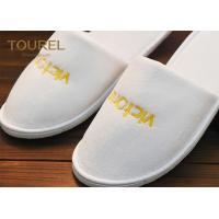 Buy cheap Exclusive Design Fabric Inn Terry Cloth Slippers Wholesale Breathable Comfortable from wholesalers