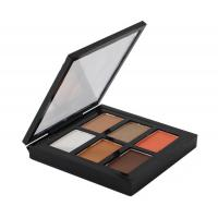 China Professional Eye Makeup Cosmetics Fashion Brown Eyeshadow Palette on sale