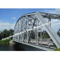 Quality Multi Span Single Lane Steel Box Girder Bailey Bridges Structural Formwork Truss Construction for sale