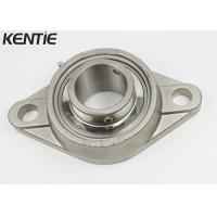 Buy cheap 420 Stainless Steel 2 Bolt Flange Bearing , Industry Trap SUCFL209 Metric Pillow Block Bearings from wholesalers