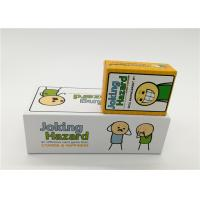 Buy cheap Family Board Games Joking Hazard Card Game For Adult OEM / ODM Available product