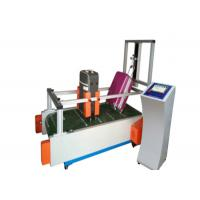 Buy cheap Suitcase Luggage Wheel Wear Testing Machine , Abrasion Testing Equipment 0-10km/Hr from wholesalers