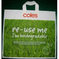 Buy cheap Green Biodegradable Shopping Bags HDPE Plastic for Promotion from wholesalers