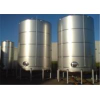 Buy cheap Single Double Wall Jacketed Mixing Tank , Stainless Steel Water Storage Tanks from wholesalers