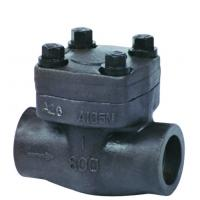 Buy cheap Forged steel check valve, high pressure sw end lifting check valve 800lb - 1500lb from wholesalers