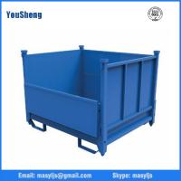Buy cheap Metal Stacking Storage Cage/Warehouse Storage Cage/Logistics Cage from wholesalers