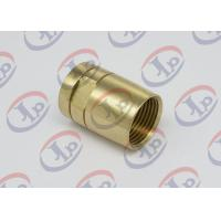 Buy cheap Brass Female Union Nipple High Precision Machining Parts With Pickling Surface from wholesalers