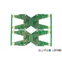Buy cheap Electronics Parts PCB Circuit Board 4 Layers 1 OZ Copper ENIG Surface Treatment product