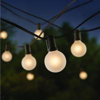 Buy cheap 25ft Outdoor Decorative String Lighting G40 Led String Lights 20000 Hrs Life from wholesalers