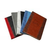 Buy cheap PU Leather Custom Printed Notebooks 120 Sheets Wood - Free Paper Inner Pages from wholesalers