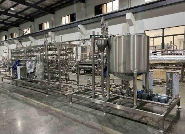 Buy cheap Steam Sterilization Fruit Juice Pasteurizer 2T/H 3T/H SUS316 from wholesalers