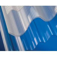 Buy cheap Polycarbonate Corrugated Sheet / Plastic Roofing Panels / Transparent Roof Tiles product