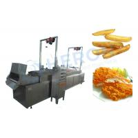 Buy cheap Electric Heating Automatic Fryer Machine , Deep Fried Dough Sticks Production Line from wholesalers