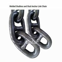 Buy cheap Marine Stud Link Anchor Chain , Galvanized Mooring Swivel Shackles from wholesalers