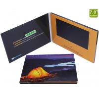 Buy cheap High quality Customized 7 inch TFT LCD Screen Soft Cover Folder video brochure card from wholesalers