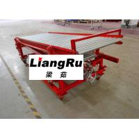 Buy cheap Movable Telescopic Gravity Roller Conveyor 7 Meters For Unloading Cartons Boxes from wholesalers