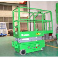 Buy cheap 240Kg loading portable industrial mini self propelled lift for painting , cleaning,5m working height from wholesalers