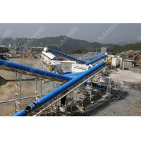 Buy cheap High Speed Belt Conveyor Smoothly Running  For Sand Stone Product Line from wholesalers
