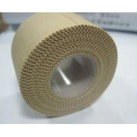 Buy cheap Roll Coloured Cotton Woven Medical Tape , Sports Injury Tape Strapping from wholesalers
