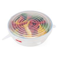 Buy cheap Flexible Food Grade Silicone Stretch Lids , Silicone Microwave Cover For Bowl from wholesalers