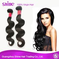Buy cheap Raw Cheap Mink Indian Human Hair Wet and Wavy Virgin Hair Bundles Body Wave Soft Human Hair Extensions 10-26inch from wholesalers