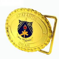Buy cheap 3D Design Custom Promotional Gifts Personalized Gold Custom Steel Belt Clamp With Teeth product