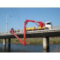 Buy cheap Dongfeng 6x4 Bucket Type Bridge Inspection Equipment , bridge inspection platform 16m 270HP product