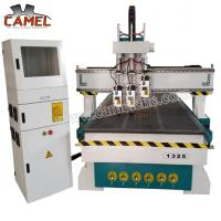 Buy cheap CA-1325 3 heads milling machine cnc with 1300*2500mm/cnc pneumatic head machine 3 spindles cnc machine from wholesalers