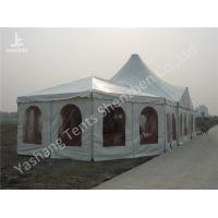 Buy cheap Combined A Frame And High Peak Church Style Wedding Tents Aluminum Alloy Frame from wholesalers