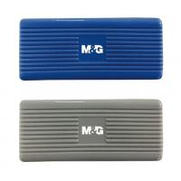 Buy cheap Blue / Gray White Board Eraser Quickly Removes for School and Office from wholesalers