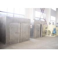 Buy cheap Hot air circulation Industrial Tray Dryers team / electric heater for herb roots from wholesalers