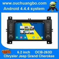 Buy cheap ouchuangbo s160 android 4.4 car sat nav head unit for Chrysler Jeep Grand Cherokee with Built-in FM /AM radio tuner product