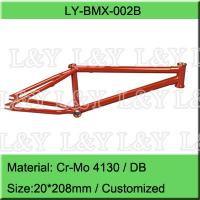 China Double Butted Cr-Mo BMX Bike Frame on sale
