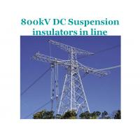Buy cheap EHV Transmission Line Composite Suspension Insulator 800kV  IEC 61109 Standard from Wholesalers