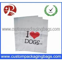 Buy cheap Personalized Carrier PO Die Cut Handle Plastic Bags For Store from wholesalers