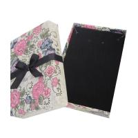 Buy cheap Cardboard Velvet Jewelry Box Jewelry Packaging Box from wholesalers