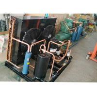 Medium And Low Temperature Condensing Unit , 4 HP Condensing Unit For Cake Display