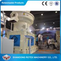 Buy cheap 4-12mm Wheat Straw Pellet Machine , Vertical Ring Die Pellet Mill Equipment from wholesalers