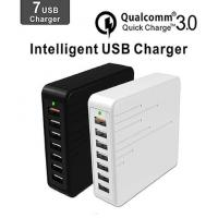 China Quick Intelligent Multi Phone Charging Plug With Seven USB Ports Device on sale