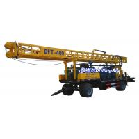 Buy cheap 400m DFT-400 Rotary Borehole Drilling Rig with Tricone Bit DTH Bit, Water Well Drilling Rig for Sale from wholesalers