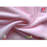 Buy cheap 2mm Pile High Friendly Minky Plush Fabric , Soft Velboa Fabric For Baby Blanket from wholesalers