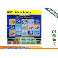 Buy cheap Stable Slot Game Machine WMS 550 Life Of Luxury 15 Line Single Board from wholesalers