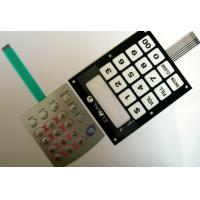 Buy cheap LED Flexible Backlit Membrane Touch Switch / Membrane Keyboard Switches from wholesalers