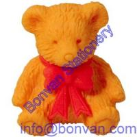 Buy cheap teddy bear eraser,3D bear eraser,kids toy gift bear eraser from wholesalers