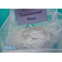 Buy cheap High Purity Anabolic Steroid Powder Testosterone Base CAS 58-22-0 for Muscle Building from wholesalers