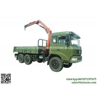 Buy cheap Dongfeng 180HP 6wd truck  Mounted Crane 7.6T.m Palfinger  6x6 off road  truck mounted crane Whatsp:8615271357675 from wholesalers